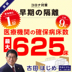 岐阜県知事選挙,古田はじめ